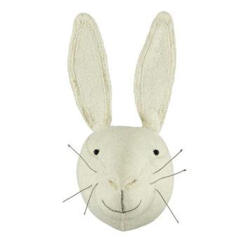 FIONA WALKER Dierenkop - Rabbit White