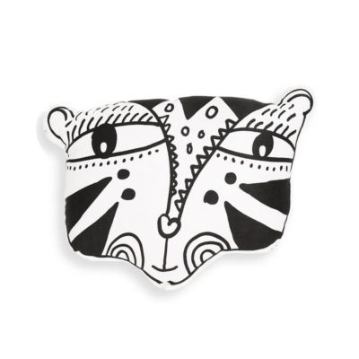 wee gallery pillow tiger