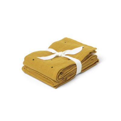 LIEWOOD muslin cloth mustard