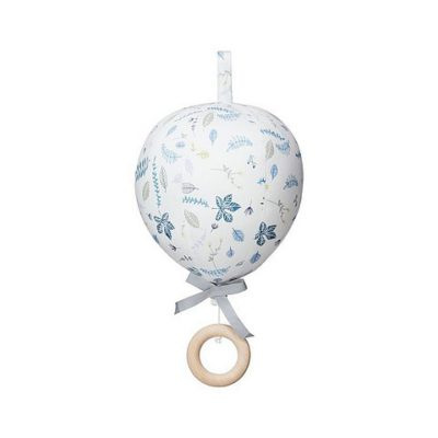 CAMCAM Muziek ballon - Pressed leaves blue