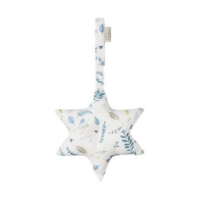 CAMCAM Gym Star - Pressed leaves blue