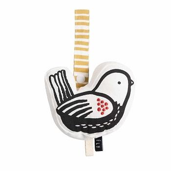 Wee Gallery organic stroller bird