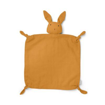 LIEWOOD Rabbit cuddle cloth - Mustard