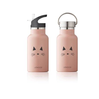 LIEWOOD Waterbottle cat - Rose