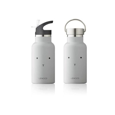 LIEWOOD Waterbottle rabbit – Dumbo grey