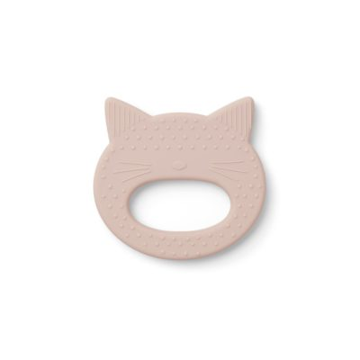 Liewood silicone teether cat rose