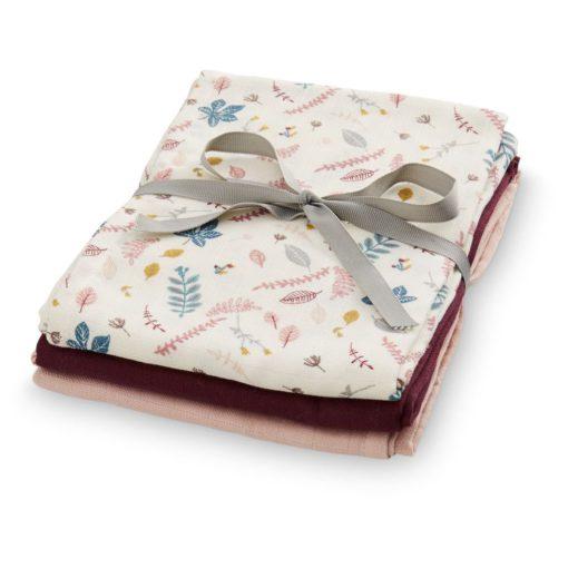 CAMCAM Muslin cloth - Rose