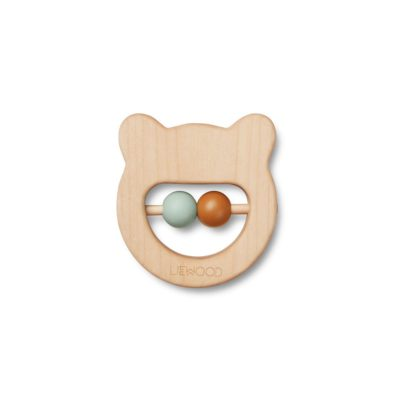 LIEWOOD Wood teether - Bear