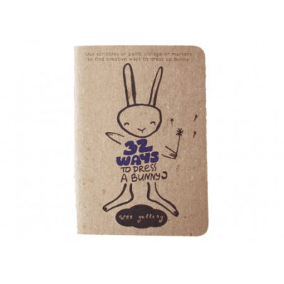 wee gallery activity book bunny