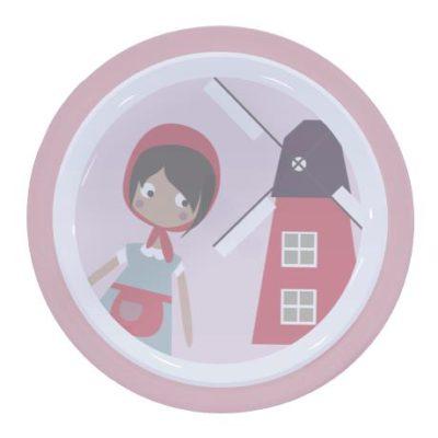 SEBRA Plate farm girl - Rose