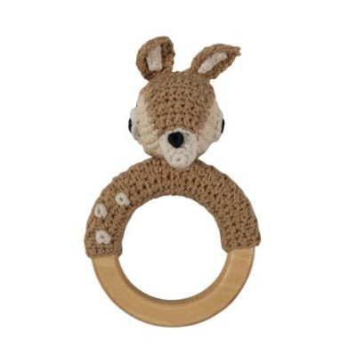 SEBRA Crochet rattle - Deer