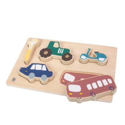 SEBRA Puzzle - Little driver