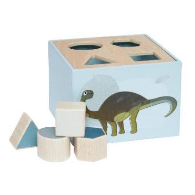 SEBRA Wooden shape sorter - Dino