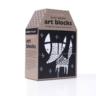 wee gallery art blocks night