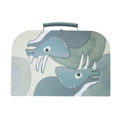 SEBRA Koffer - Dino lichtblauw