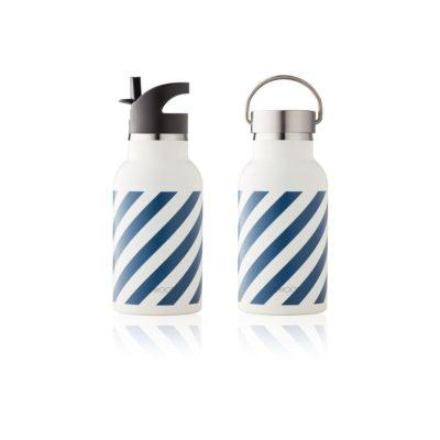LIEWOOD Waterbottle - Navy/ creme