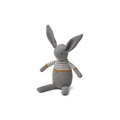 LIEWOOD Knit rabbit - Grey