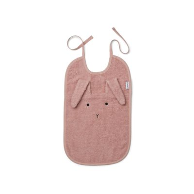 LIEWOOD Bib rabbit - Rose