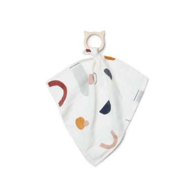 LIEWOOD Teether cuddle cloth - Abstract
