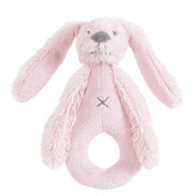 HAPPY HORSE Rattle Rabbit Richie (Pink)