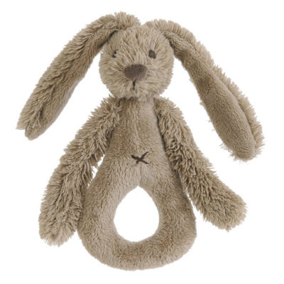 HAPPY HORSE Rattle Rabbit bruin