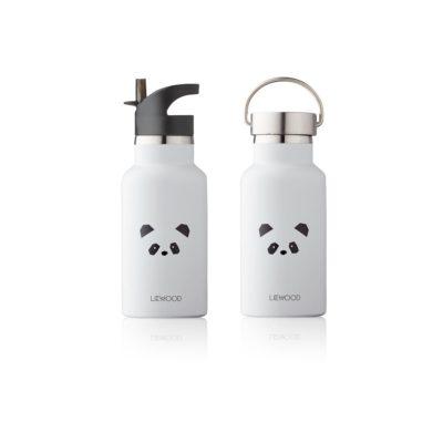 LIEWOOD Waterbottle panda - Light grey