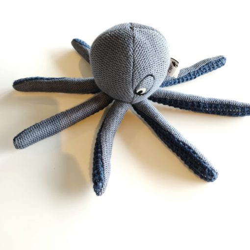 LIEWOOD Octopus knit mini - Blue wave