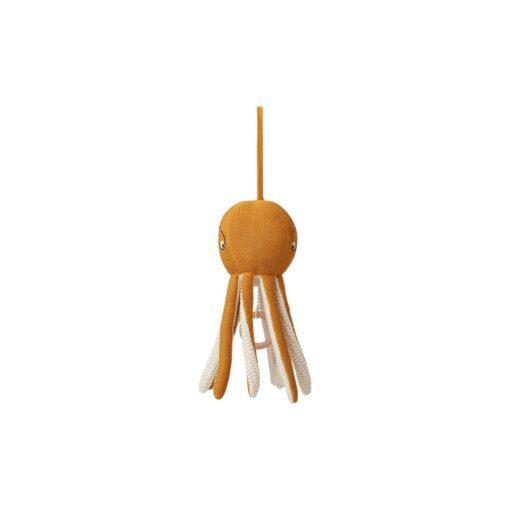 LIEWOOD Octopus mobile - Mustard