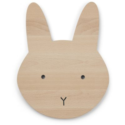 liewood troy wooden lamp bunny