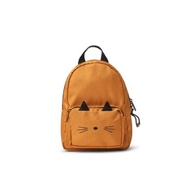 liewood backpack saxo cat mustard