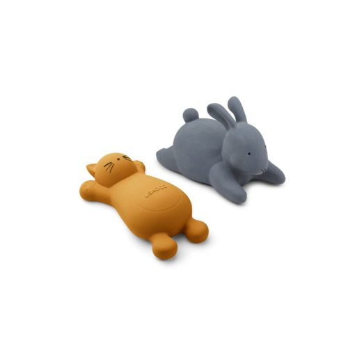 LIEWOOD Vikky Bath Toy - Cat Mustard