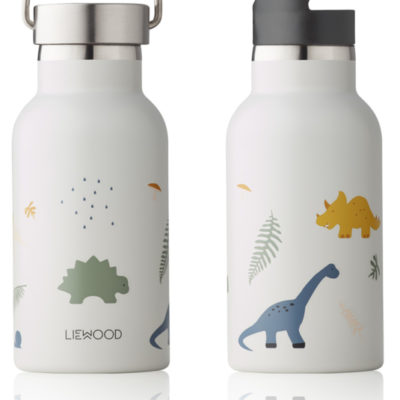 LIEWOOD Anker Water Bottle - Dino Mix