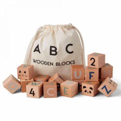 liewood lars wooden blocks