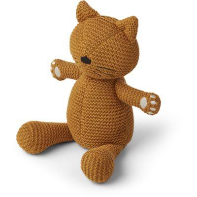 liewood missy teddy cat mustard