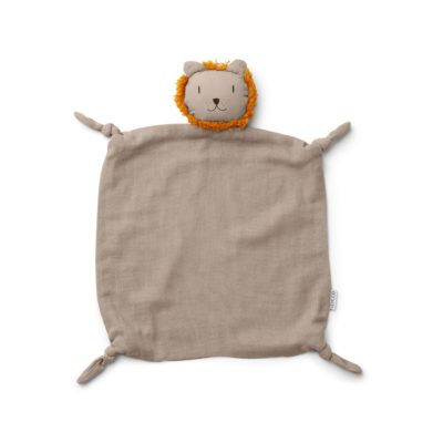 LIEWOOD Lion Cuddle Cloth - stone beige
