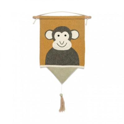 KIDS DEPOT Wand Hanger Aap Moos
