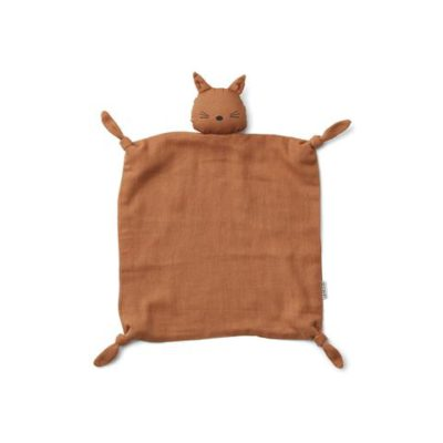 LIEWOOD Cat cuddle cloth terracotta