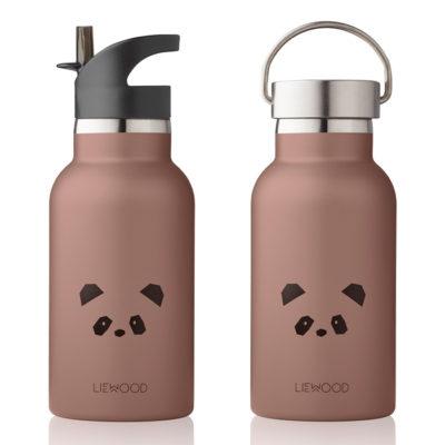 LIEWOOD Anker Water Bottle Panda rose