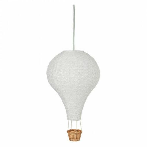 cam cam lamp luchtballon grey