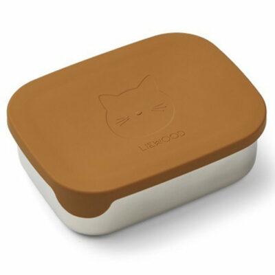 liewood arthur lunchbox mustard