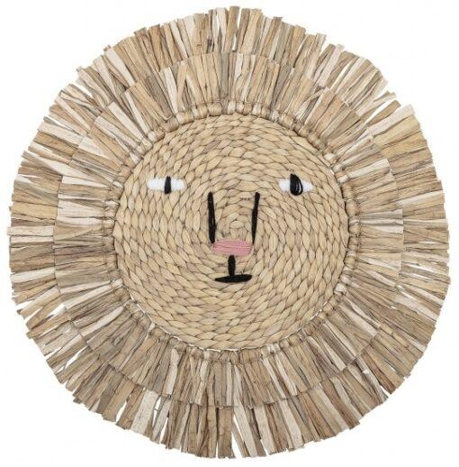Bloomingville mini wandhanger lion