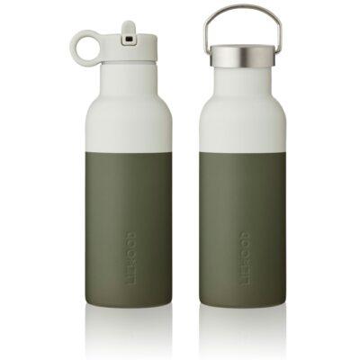 liewood neo water bottle hunter green