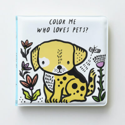 wee gallery bathbook pets