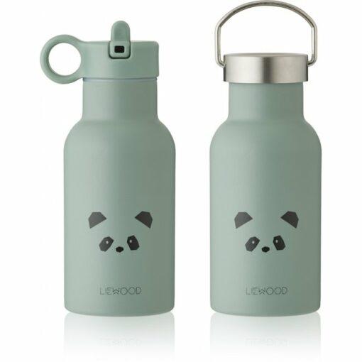 liewood water bottle anker panda peppermint