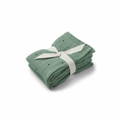 liewood muslin cloth peppermint