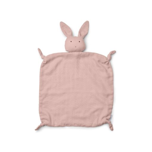 liewood agnete cuddle cloth rabbit rose