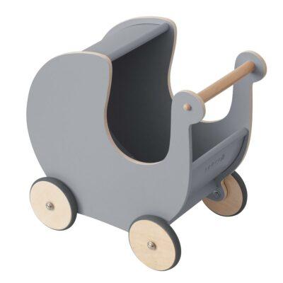 sebra poppenwagen elephant grey