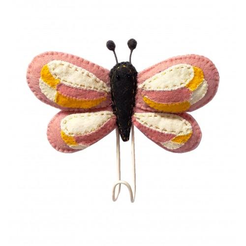 FIONA WALKER Dierenkop Haak - Butterfly