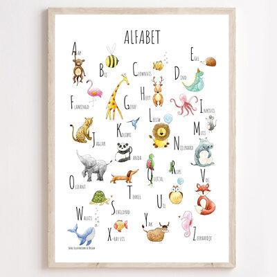 JUULZ Poster - Alfabet