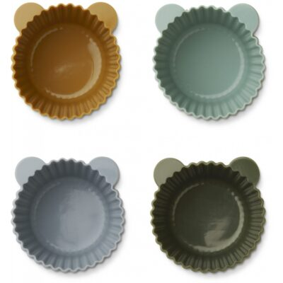 LIEWOOD Cake Cup Jerry - Green Multi Mix (12-pack)
